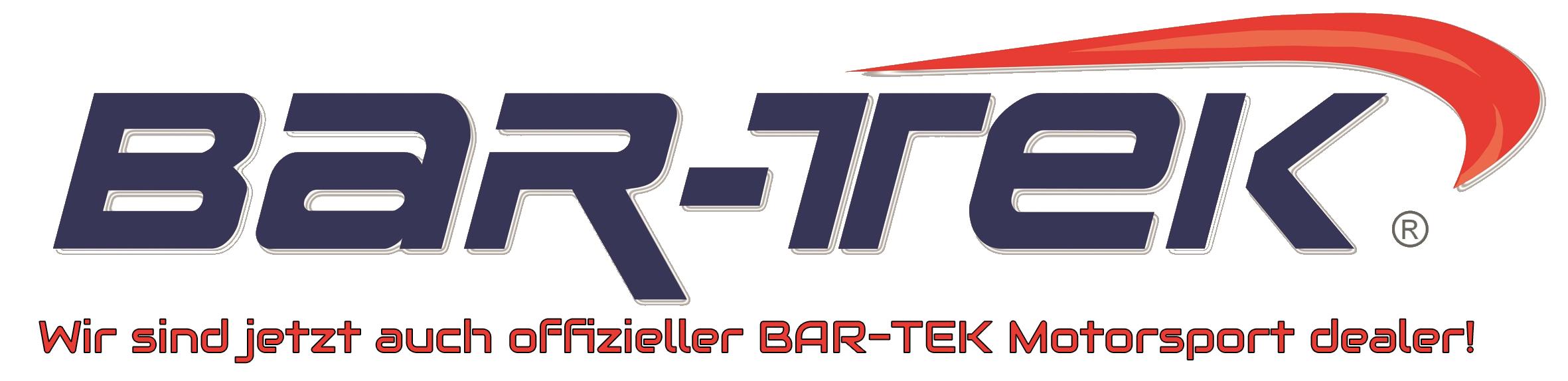 Wir sind jetzt auch offizieller BAR-TEK® Motorsport Dealer!