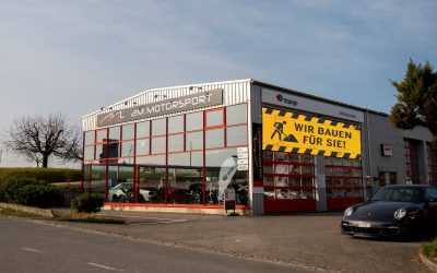 🚧 Bauphase 2M Motorsport AG 🚧